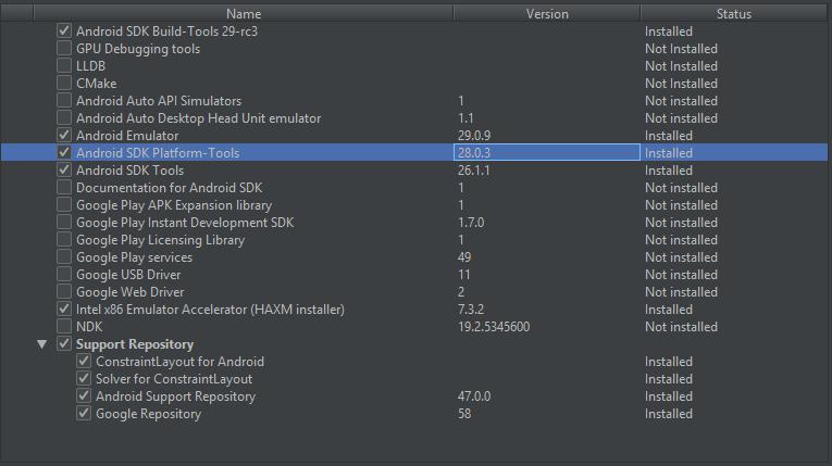 cordova run android no emulator
