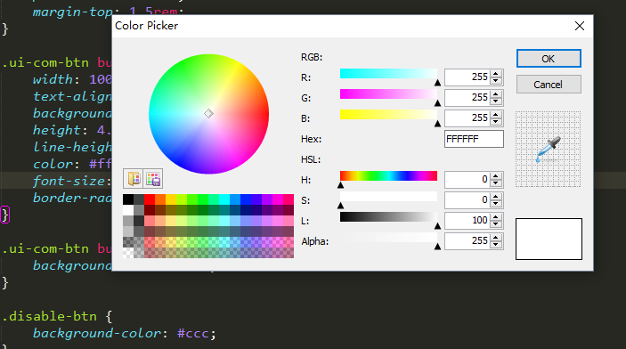 ColorHighlighter doesn't work on windows 10 Sublime Text3