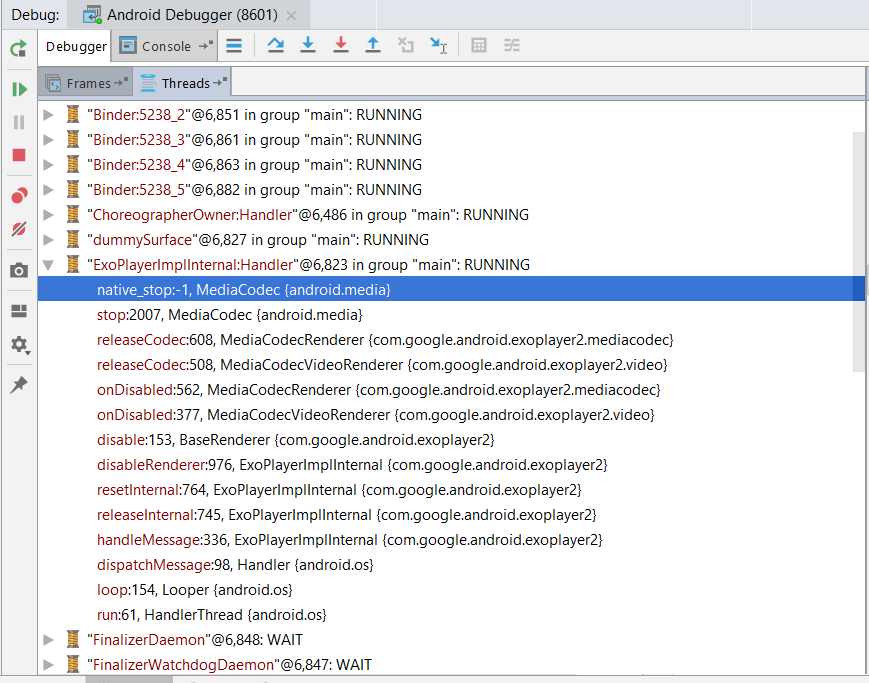 ANR on player release · Issue #4352 · google/ExoPlayer · GitHub