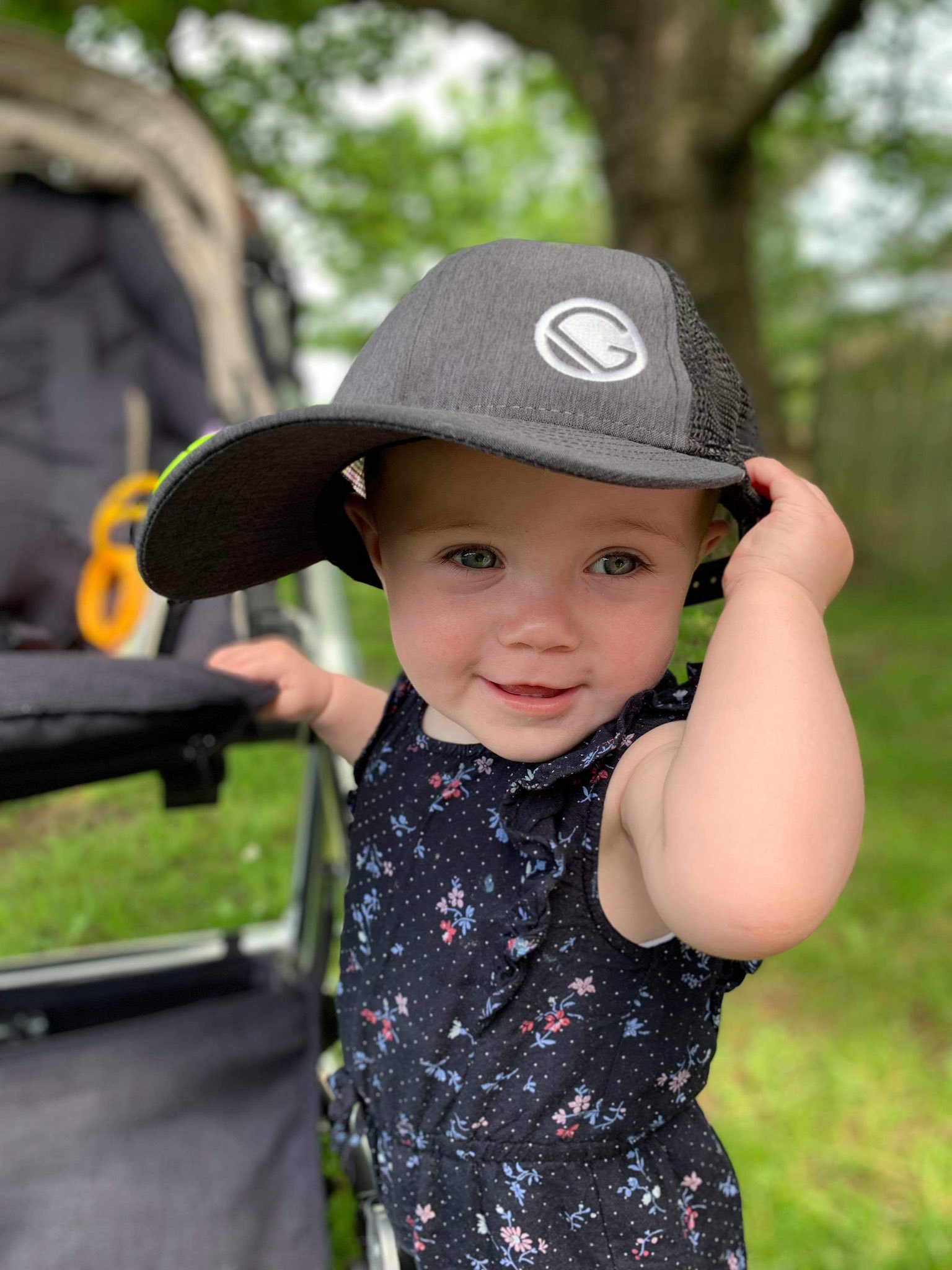 Matilda in a sick cap