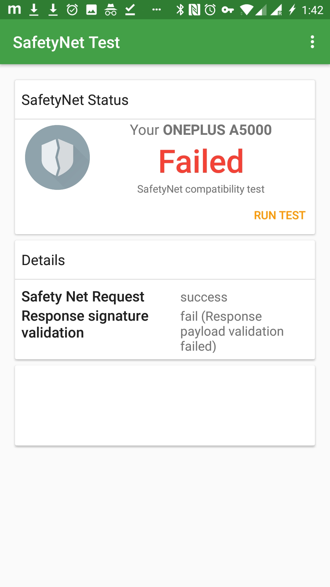No Device Check' Xposed module helps with SafetyNet check