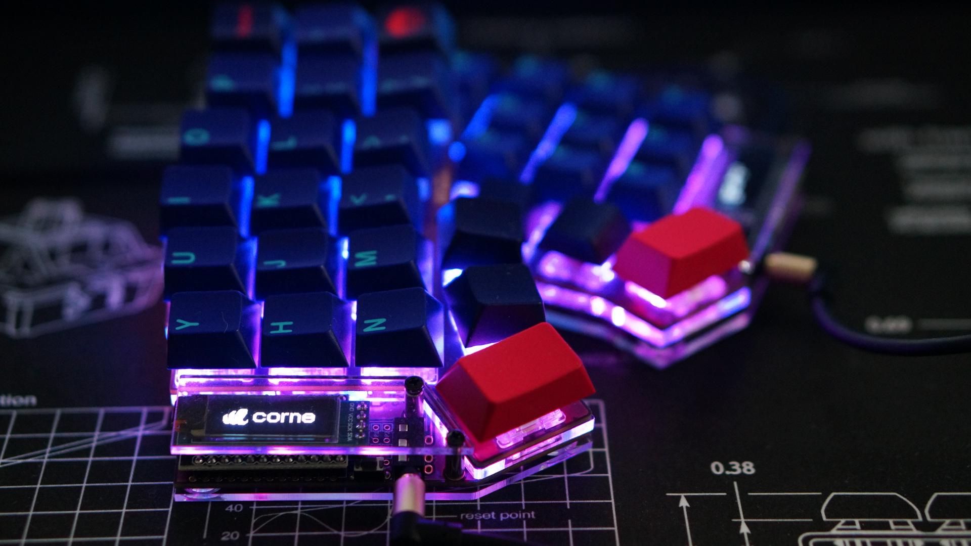 GitHub - foostan/crkbd: Corne keyboard, a split keyboard