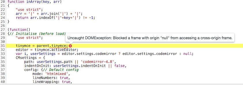 Problem with CrossDomain iFrame · Issue #3 · christiaan