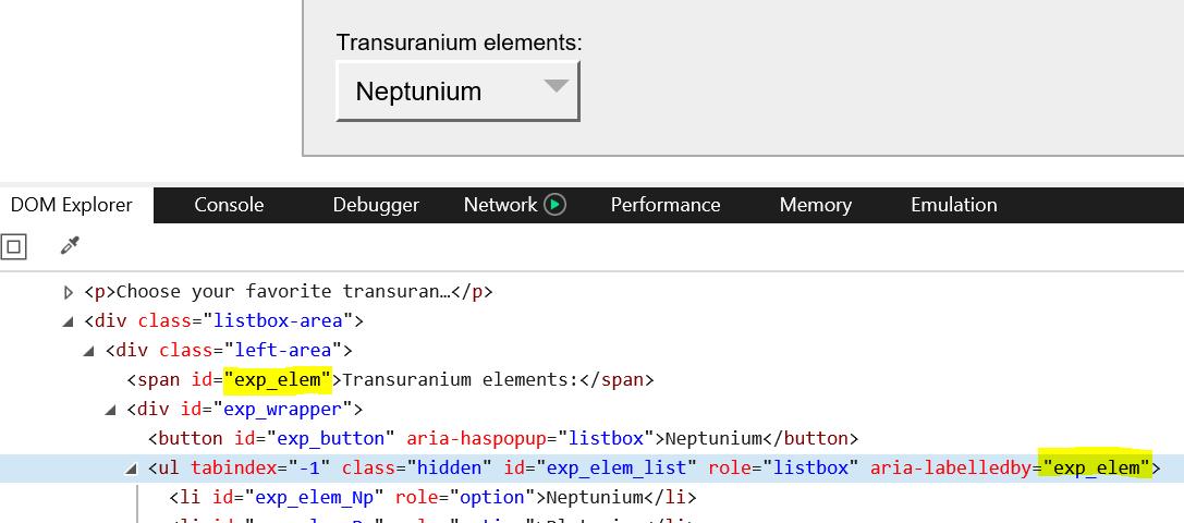 transuranium-label