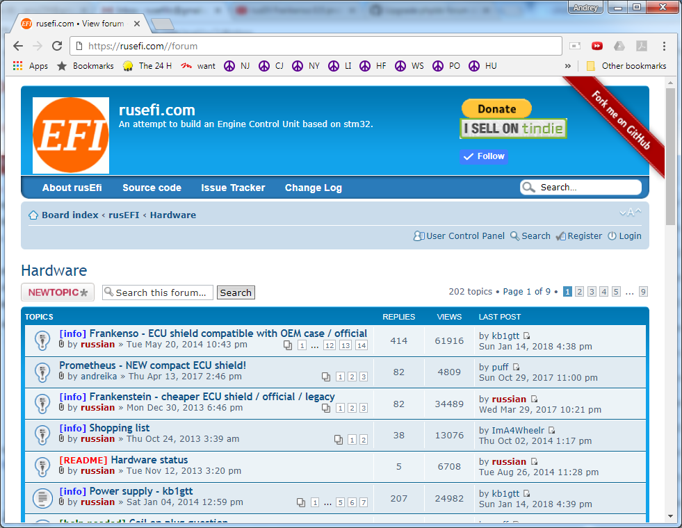phpBB • Colored text in topic titles on forum page