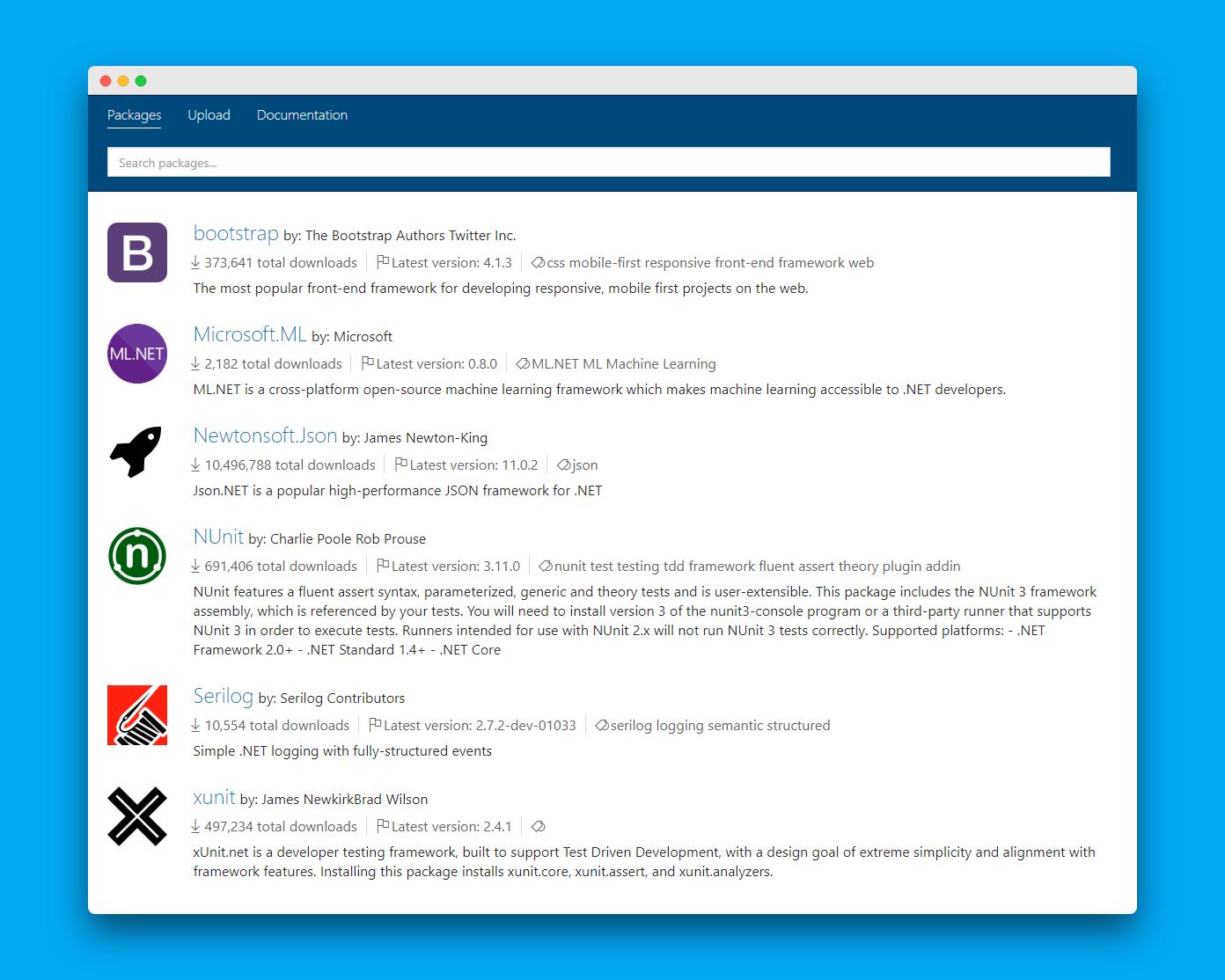 GitHub - loic-sharma/BaGet: A lightweight NuGet and symbol server