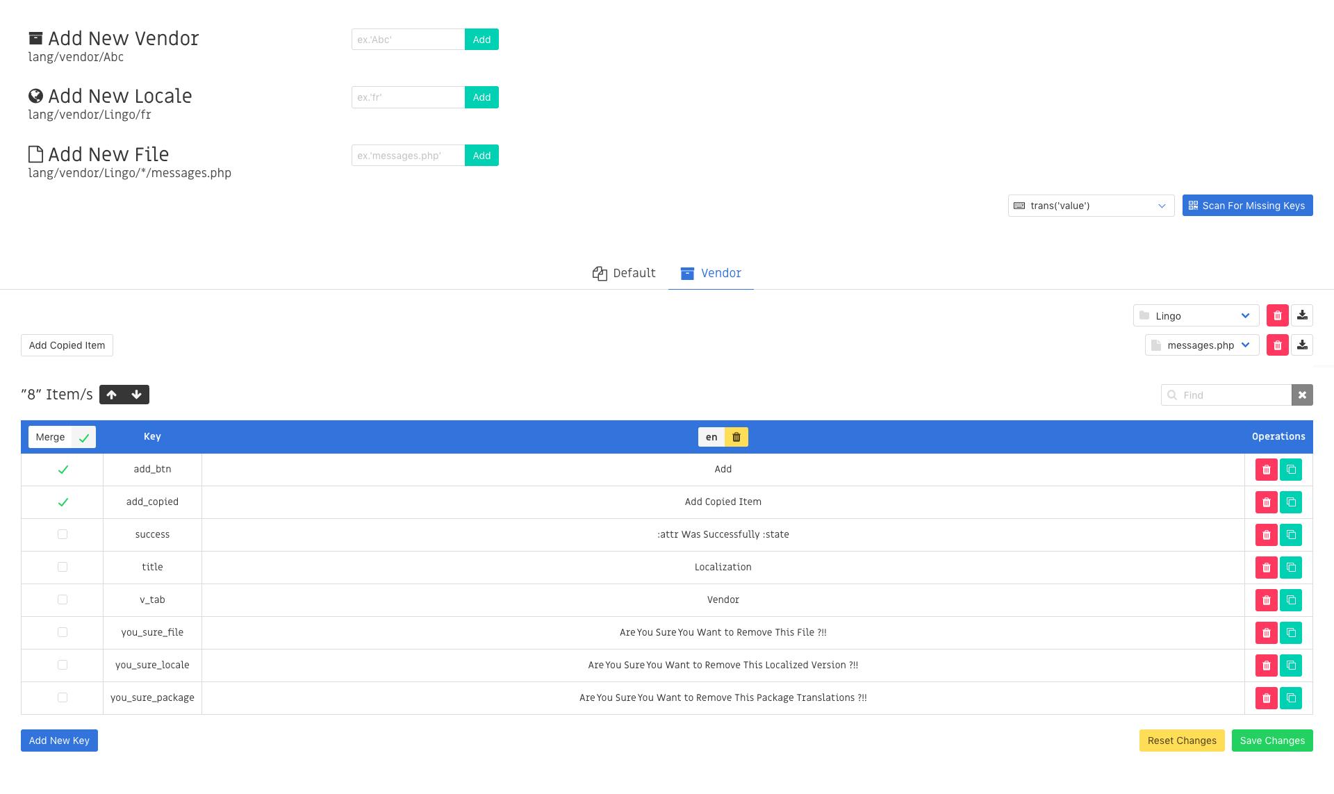 GitHub - ctf0/Lingo: A Gui To Manage Laravel Translation Files