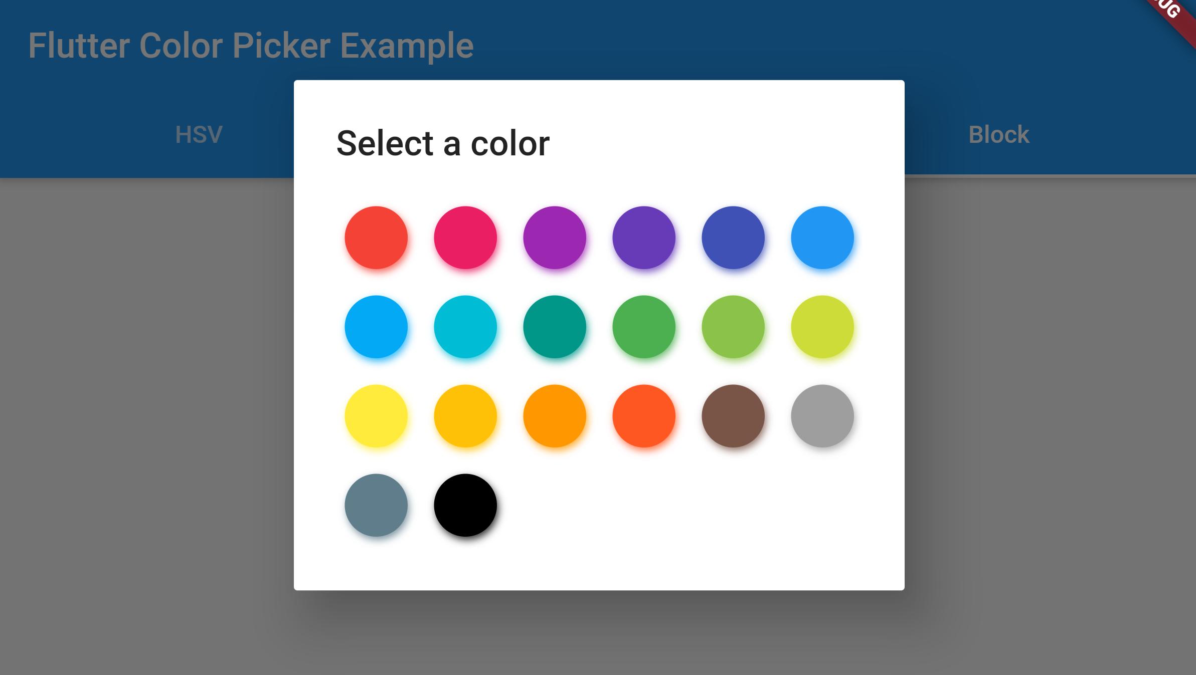 flutter_colorpicker | Flutter Package