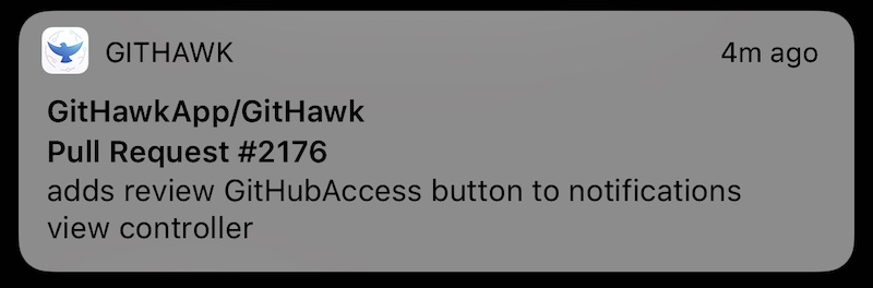 Local Notifications with Background Fetch | GitHawk Blog