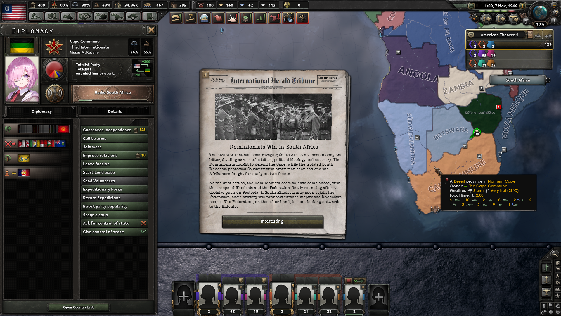 Liberating South Africa as a Syndicalist Ideology causes the