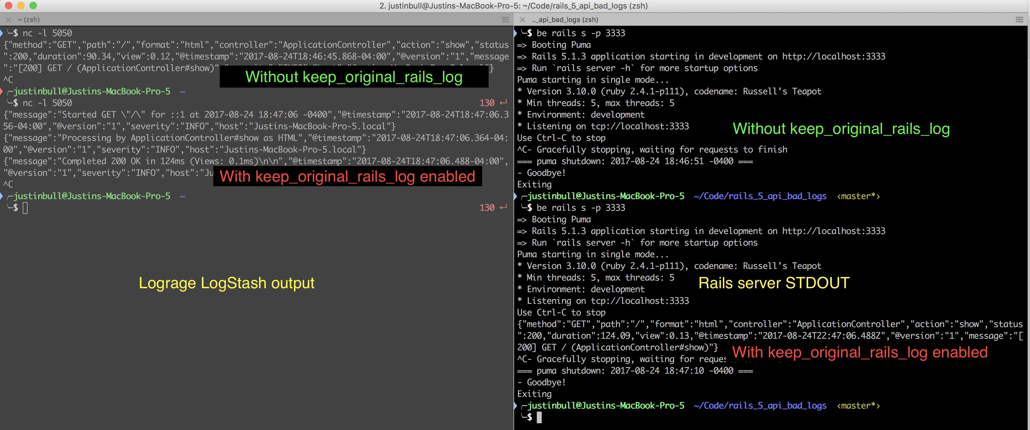 Using keep_original_rails_log sends Rails original logs to