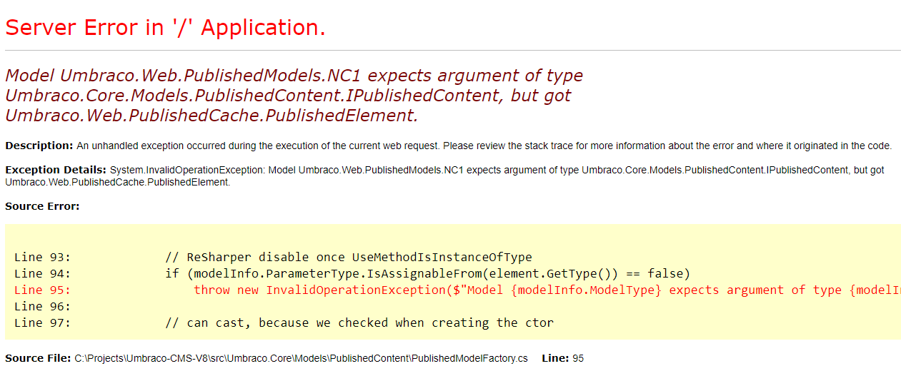 V8: ModelsBuilder doesn't play nice with Nested Content -> need to