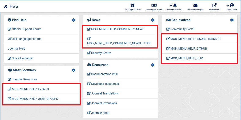 Joomla! Issue Tracker | Joomla! CMS #25570 - [4 0] Backend
