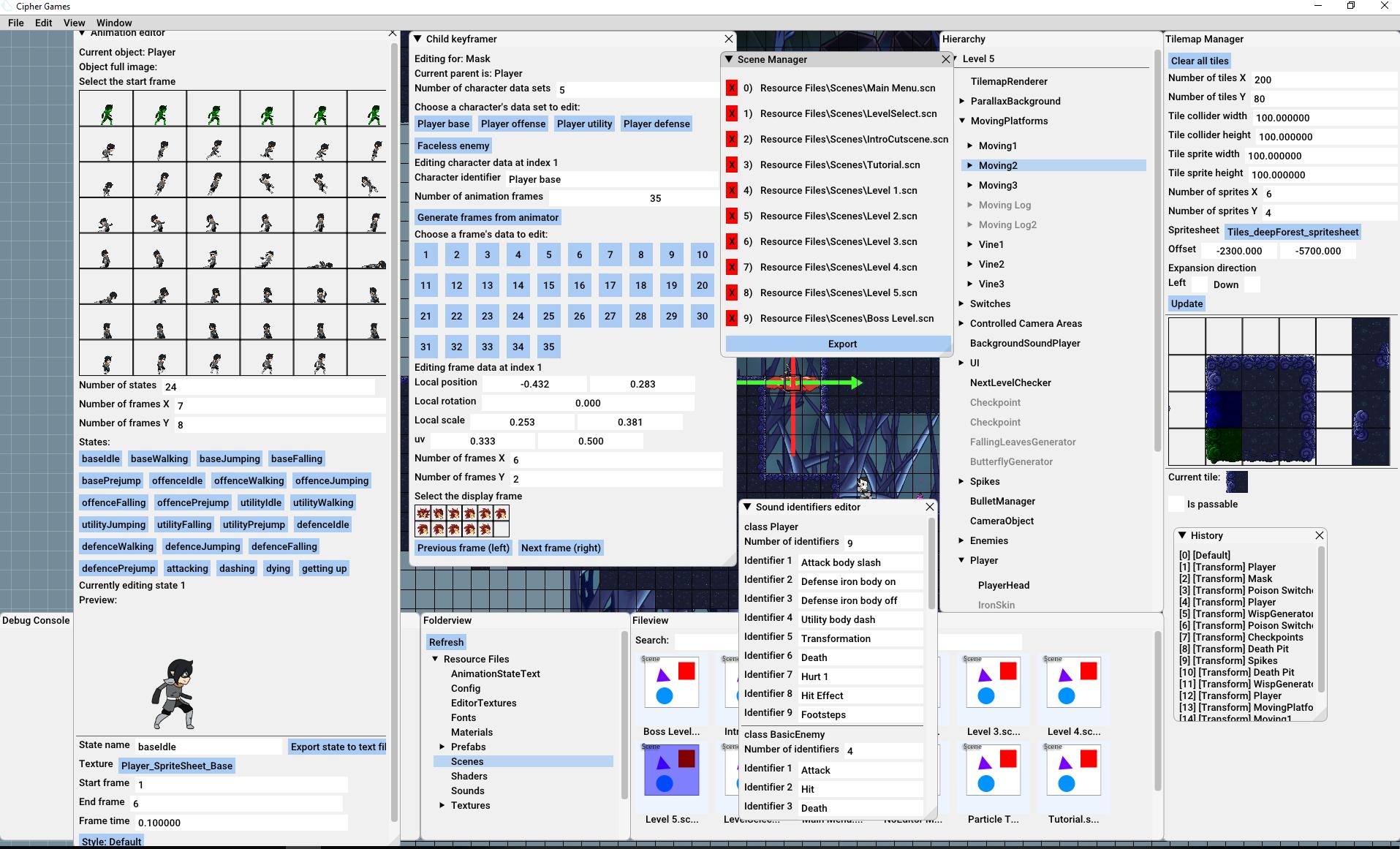 GAM250-CipherGames
