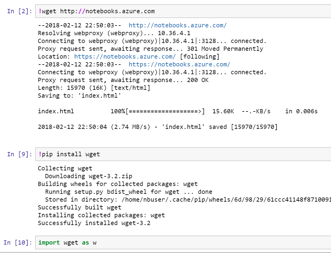 install package `wget` in Python 3 6 · Issue #306