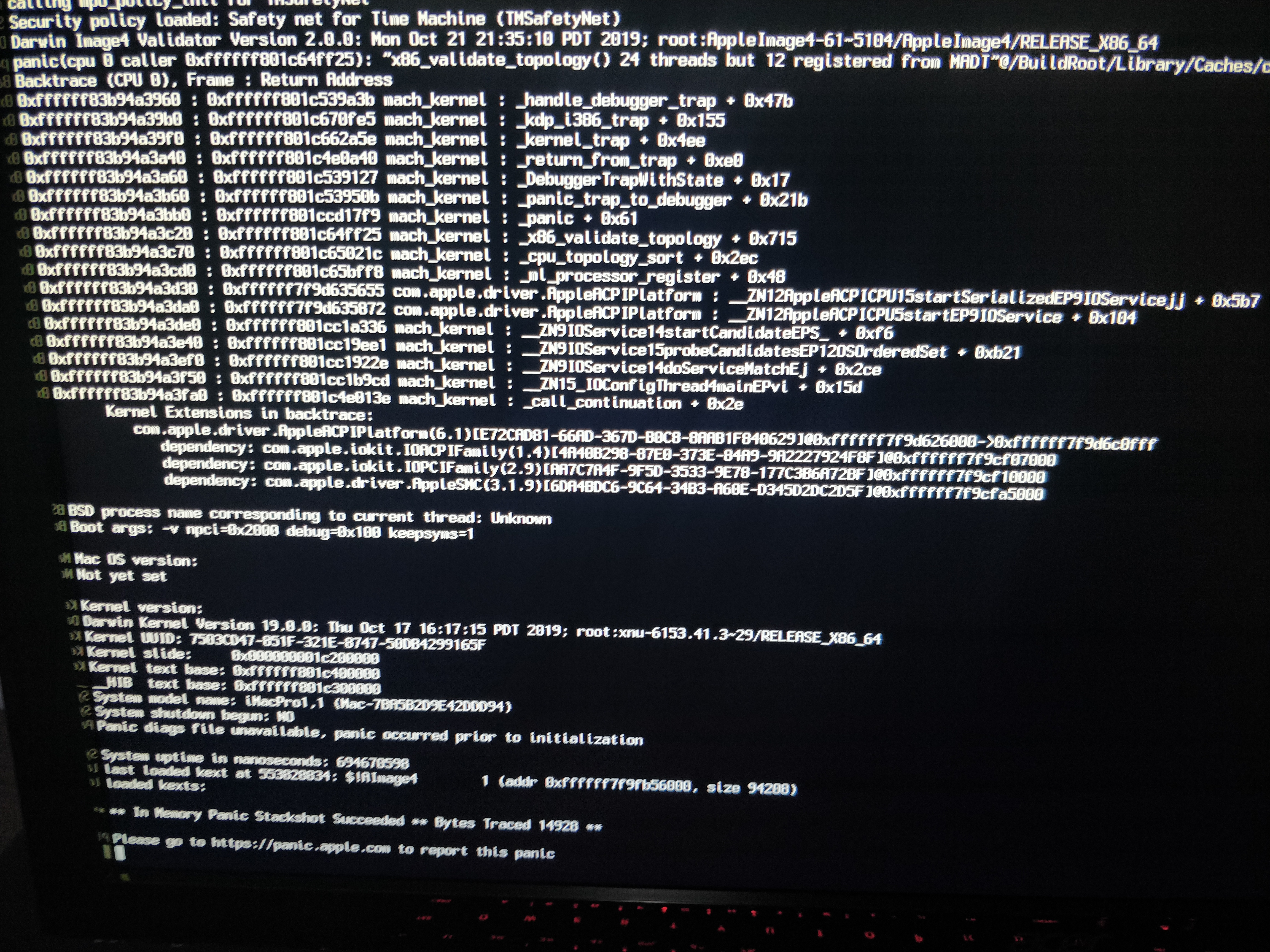 Please add support for 10 15 1 (19B88) Security Update