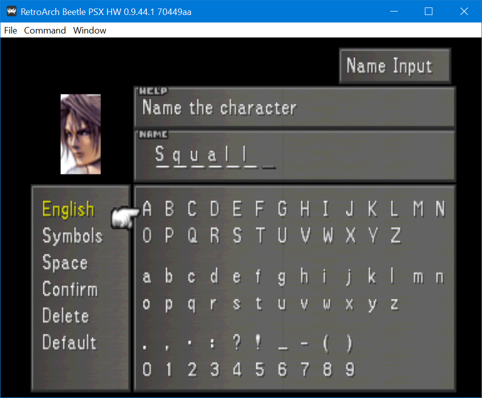 Texture Filtering/Upscaling] Final Fantasy VIII menu issues