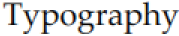 Typography, this image was rendered with this library, in subpixel rendering mode