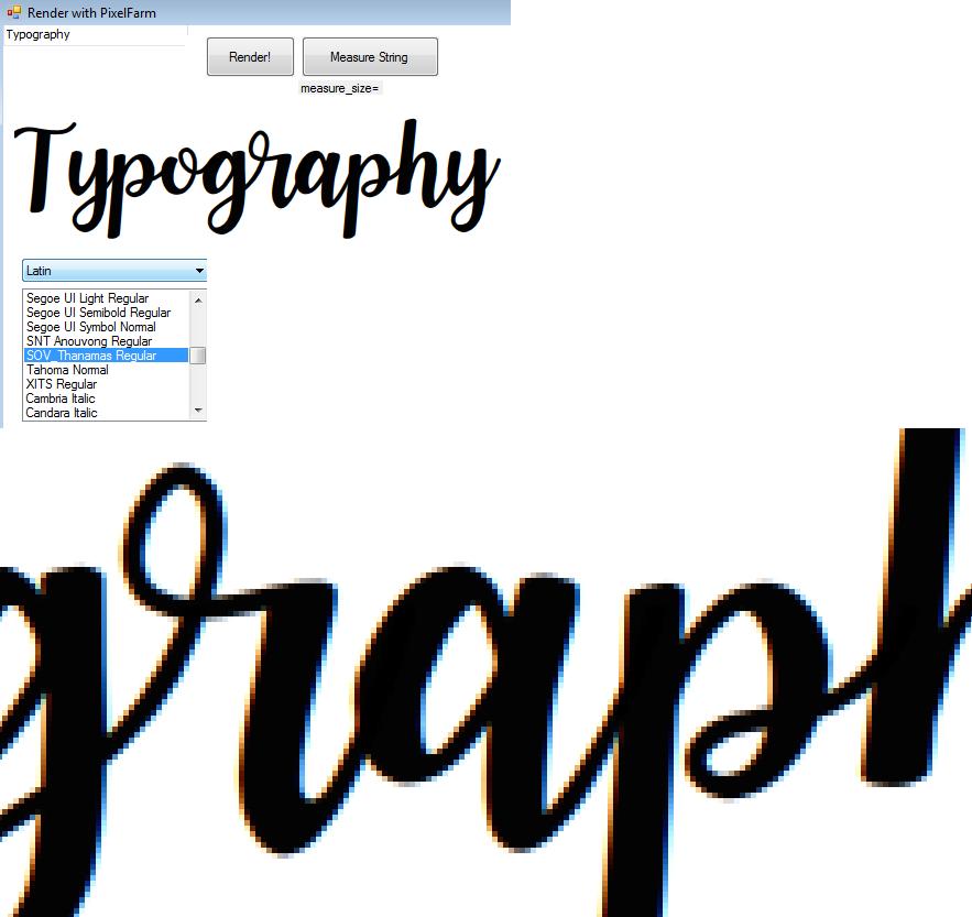 GitHub - samhocevar/fork-typography: C# Font Reader