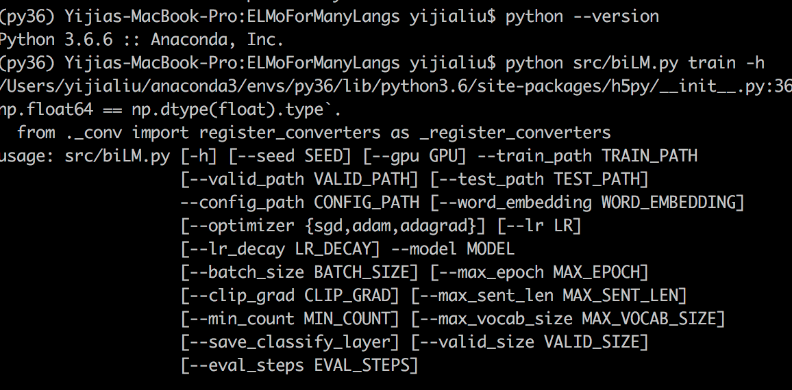 A bug on elmo py · Issue #8 · HIT-SCIR/ELMoForManyLangs · GitHub