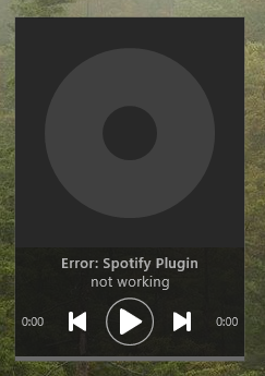 Spotify Plugin Error · Issue #99 · tjmarkham/win10widgets · GitHub