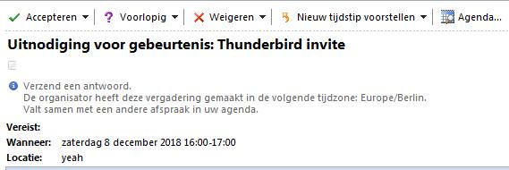 Calendar Invites Outlook Integration Issue 12885 Nextcloud
