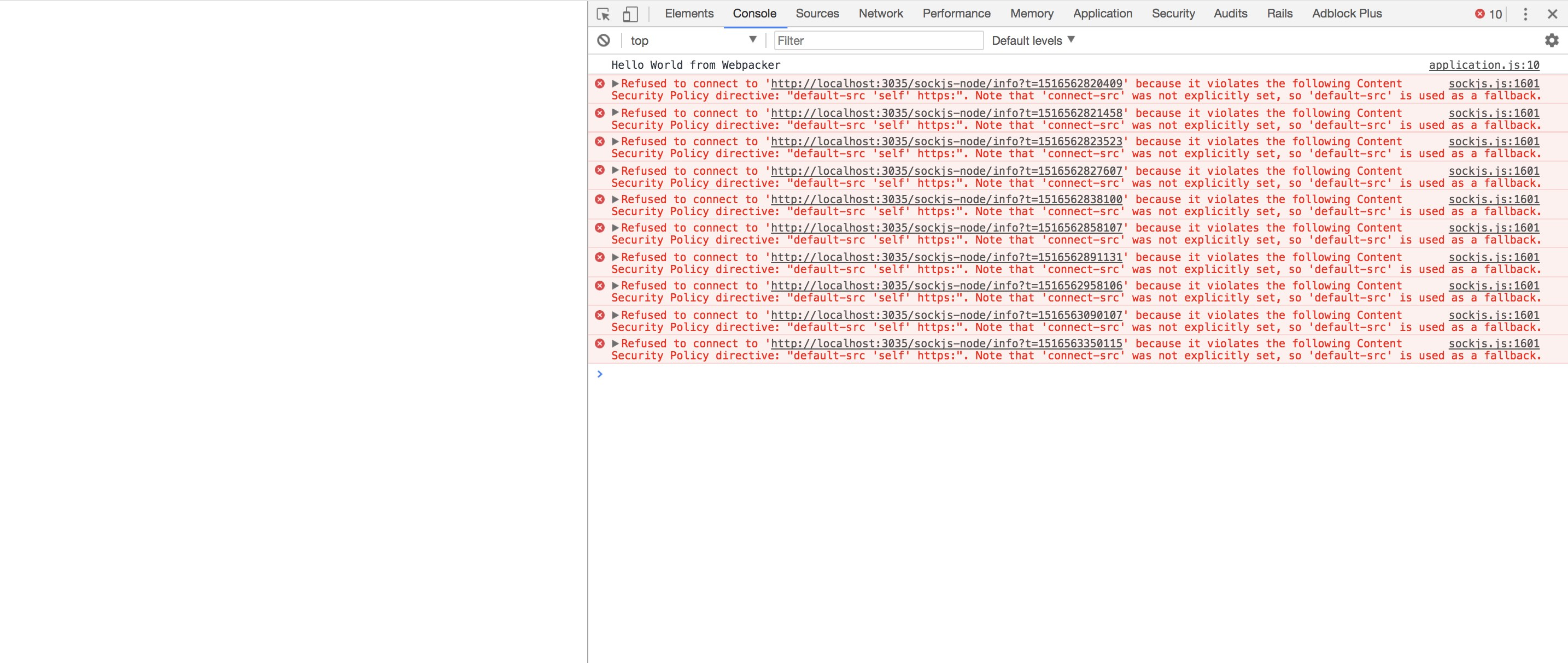 Rails 5 2 0 beta2 sockjs error:
