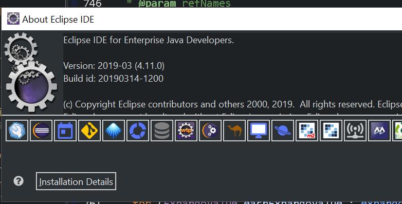Eclipse ide for enterprise java developers - 2020-03