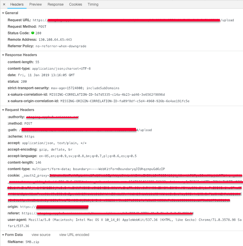 Problem With Multipart Form Data Request Issue 233 Taverntesting Tavern Github