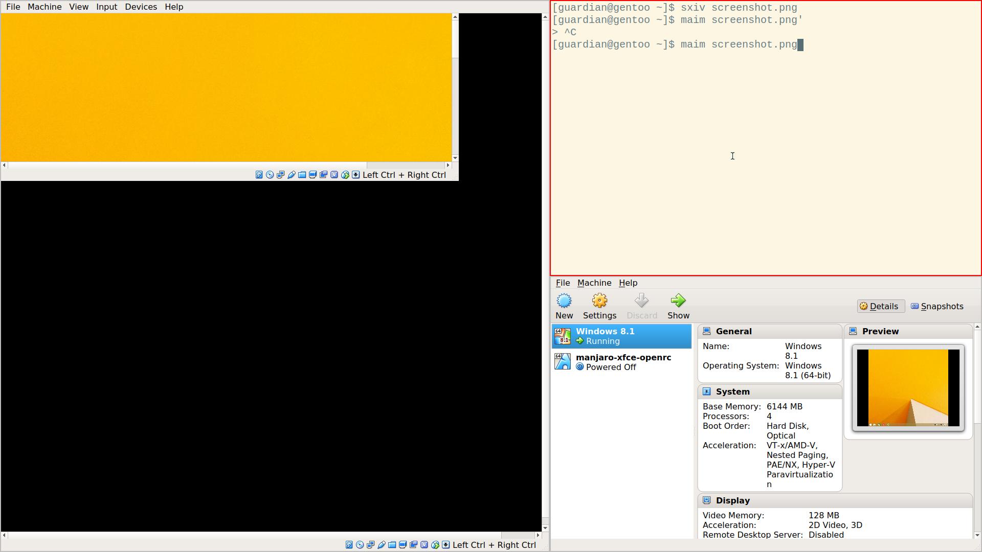 VirtualBox windows become distorted on XMonad  · Issue #146 · xmonad
