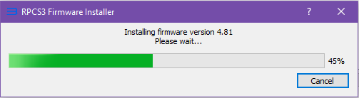 Determination of firmware version when it's installed