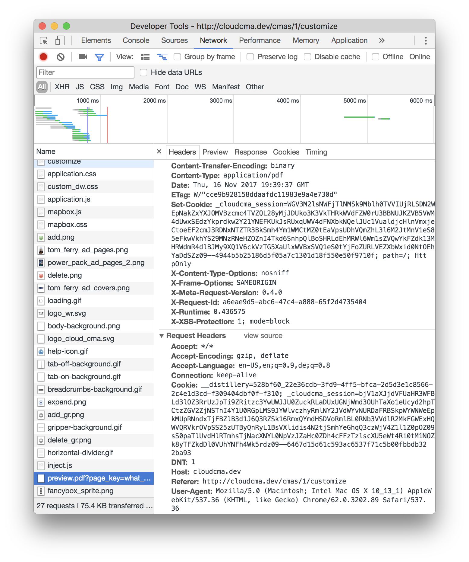PDF js Chrome extension does not send cookies · Issue #9143