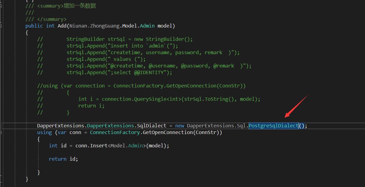 PostgreSQL problem: '[' in SQL statement · Issue #205