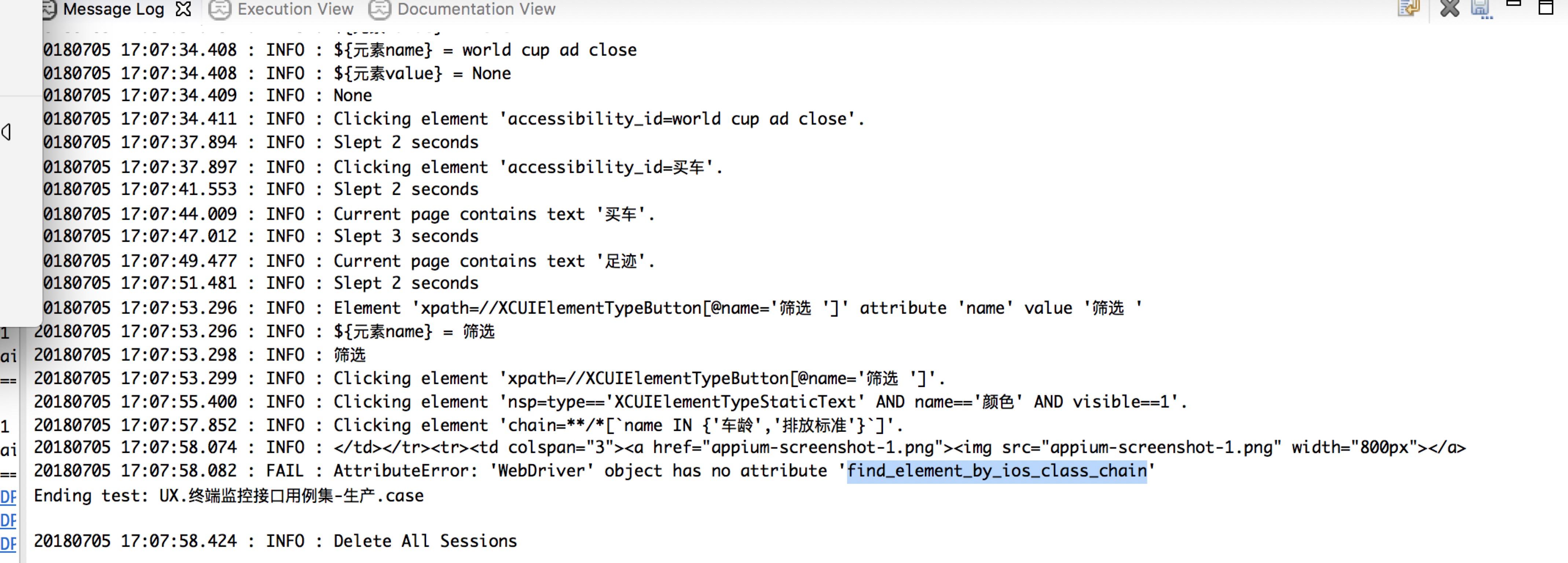Appiumlibrary Robot Framework Documentation