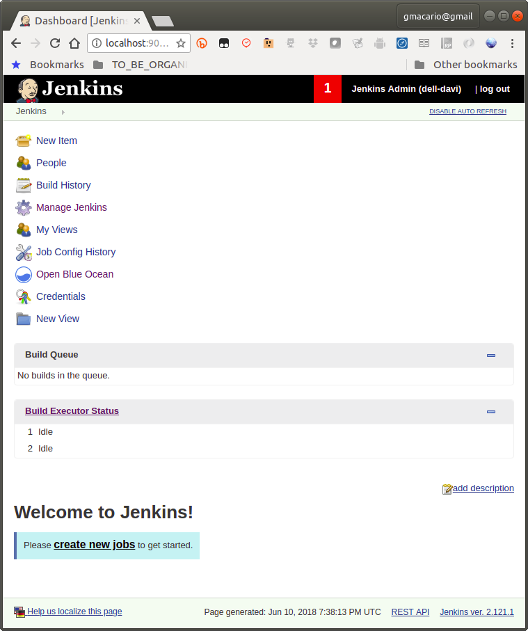 New version of Jenkins (2 121 1) is available for download