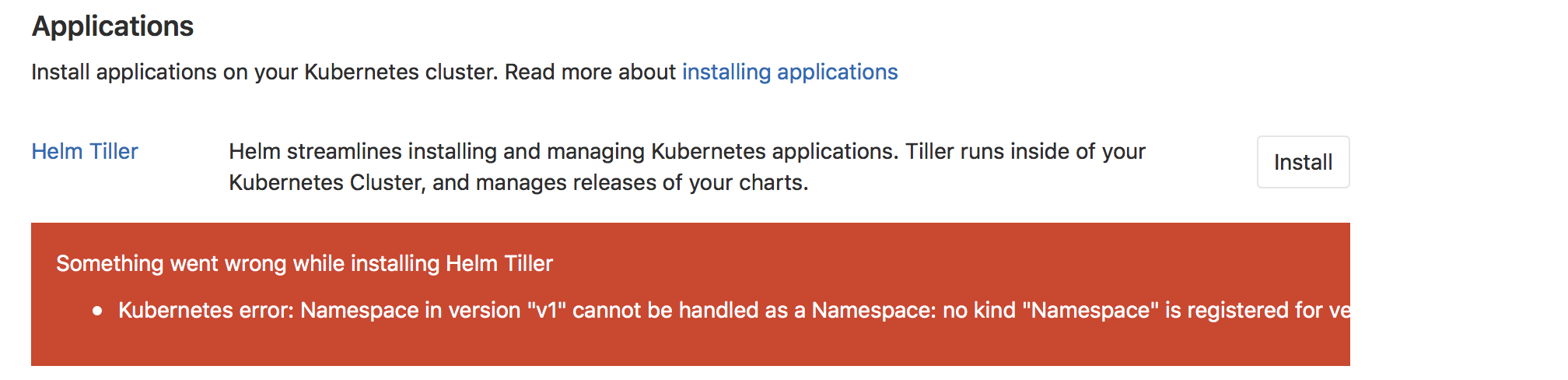 Integrate Rancher 2 0 with gitlab kubernetes function