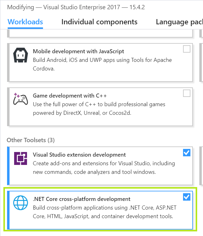 error MSB4236: The SDK 'Microsoft NET Sdk' specified could not be