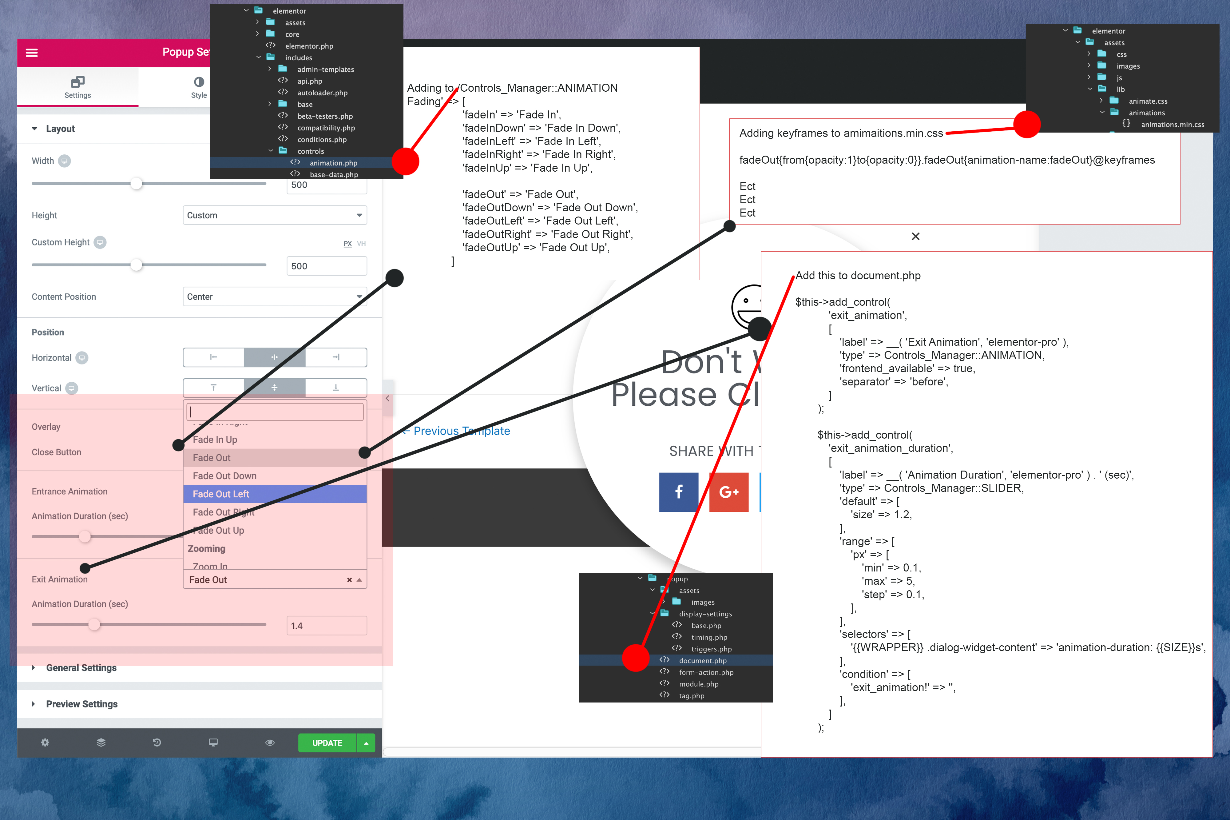 Adding Popup Exit Animations Roadmap · Issue #7063 · elementor