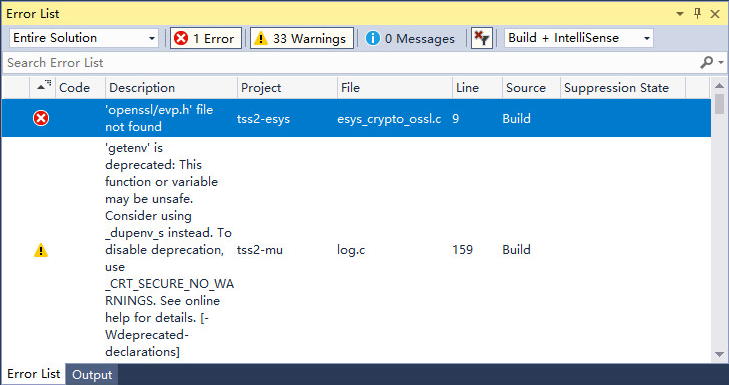 tss2-mu dll could not start-up and is not a valid win32