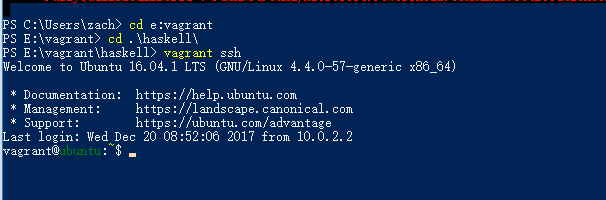 Issues with shell when SSH-ing into Vagrant · Issue #9143
