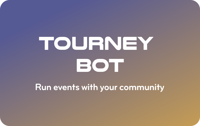 join tourney card