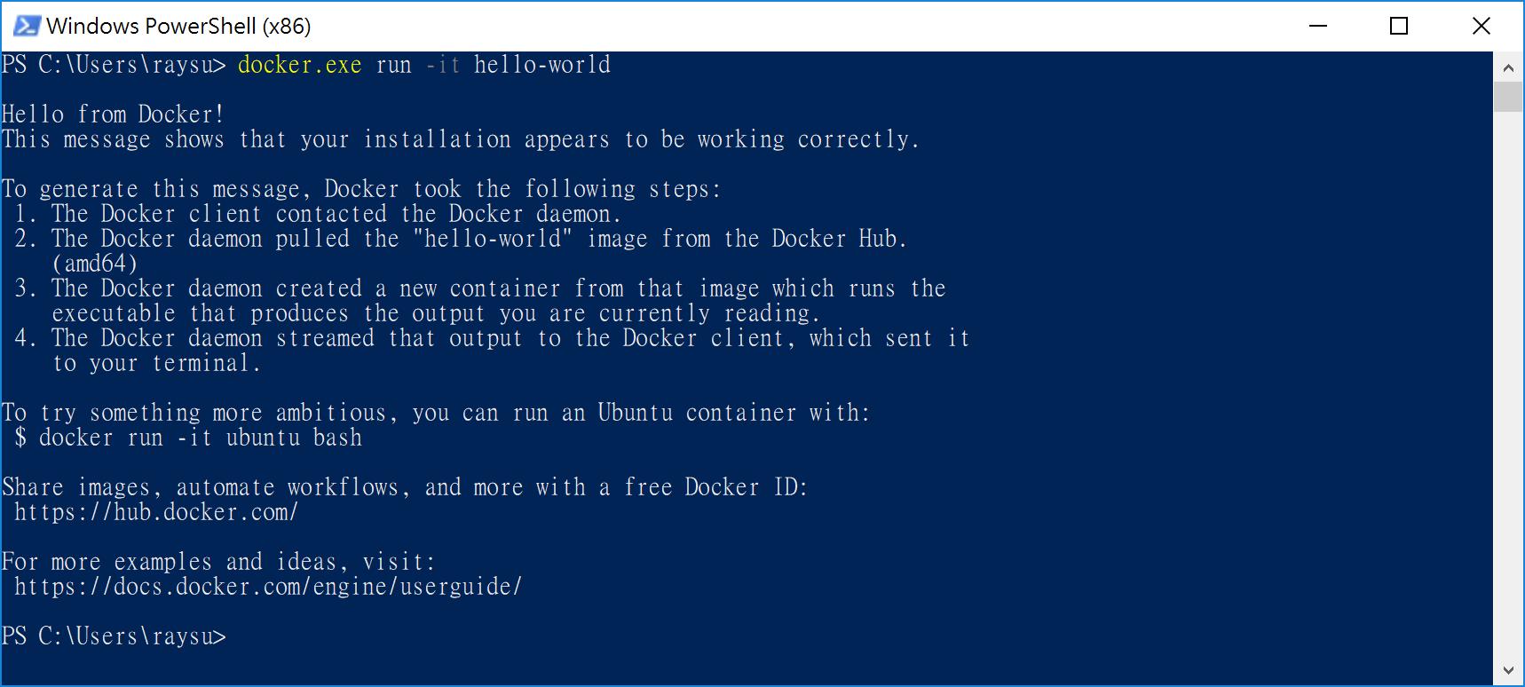 TTY Error running interactive docker on Bash on Windows · Issue