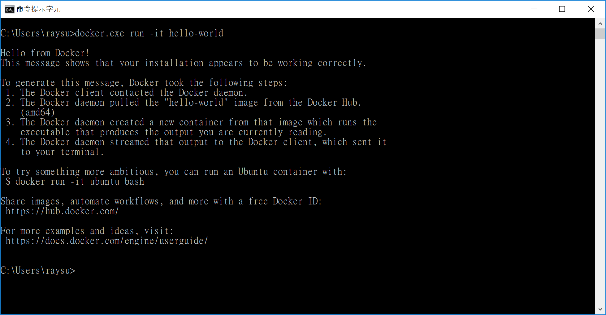 TTY Error running interactive docker on Bash on Windows