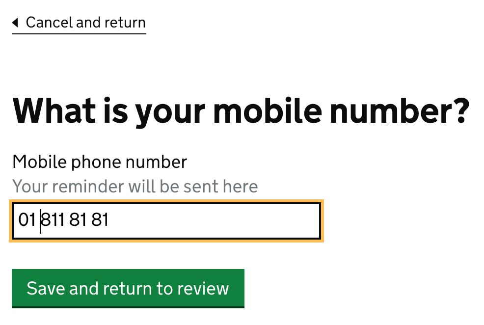 What is your mobile number?
