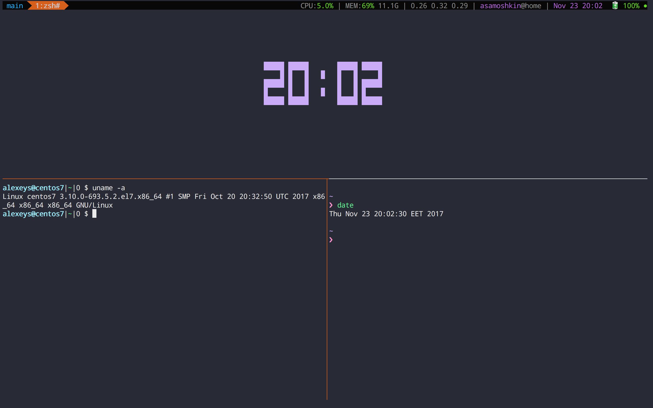 GitHub - samoshkin/tmux-config: Tmux configuration, that