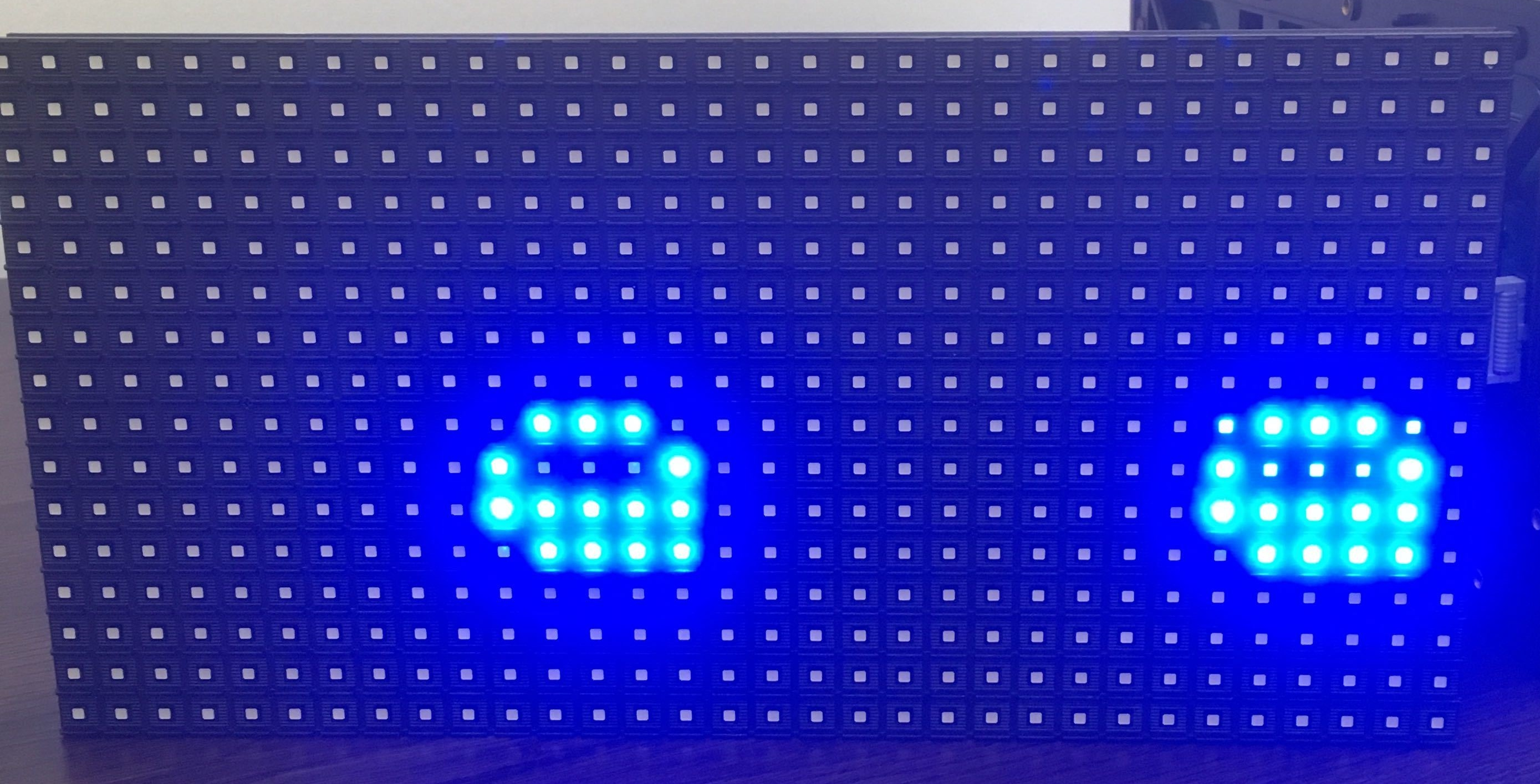 text split and shifted · Issue #46 · adafruit/RGB-matrix-Panel · GitHub