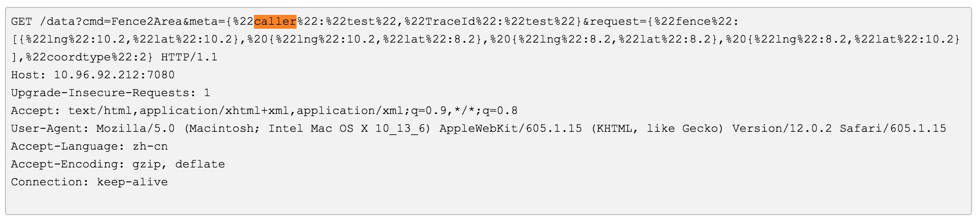 HTTP 数据
