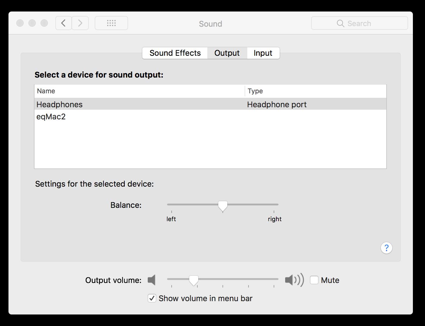 100% volume on Default Device · Issue #103 · nodeful/eqMac2