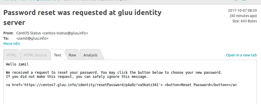 Mail Sent From Gluu Server Is In Text Format Issue 746