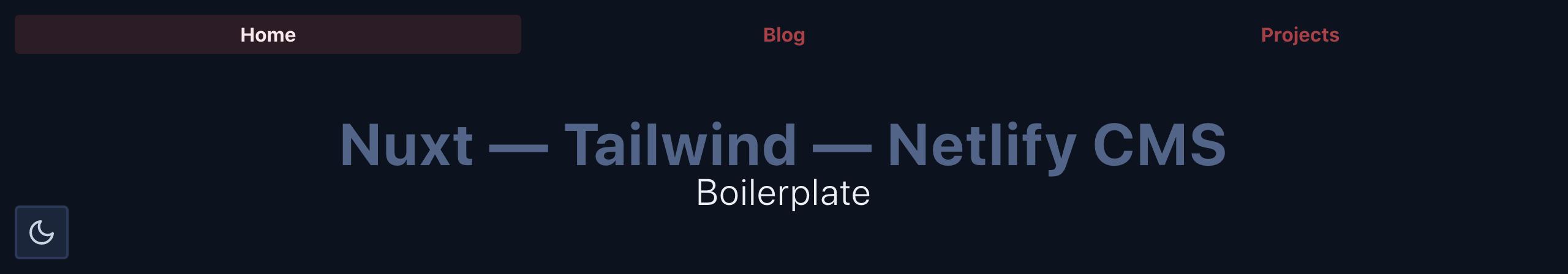 NTN Boilerplate Screenshot